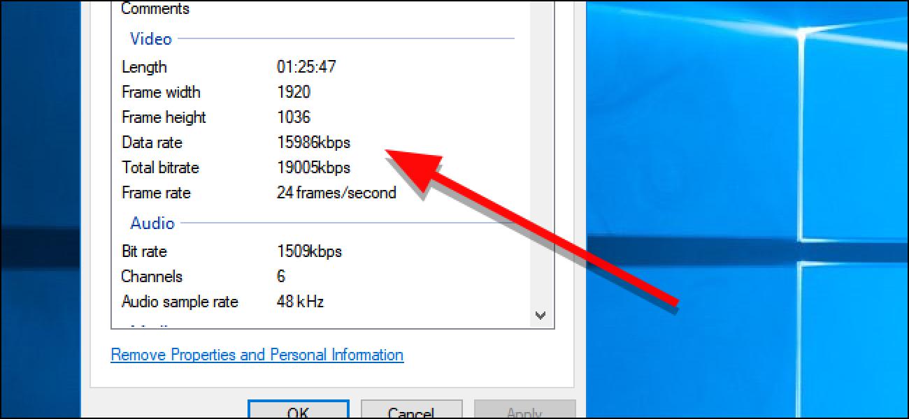 So finden Sie die Bitrate eines Videos in Windows und MacOS