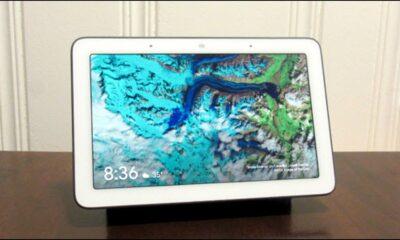 Der Google Home Hub verfügt über ein Menü mit Einstellungen für ausgeblendete Bildschirme