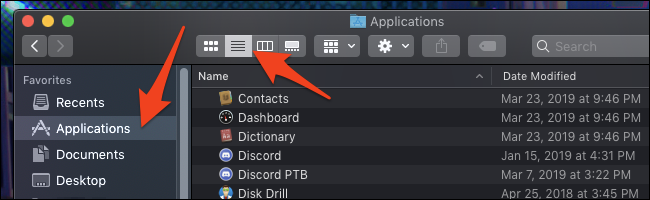 macOS-Anwendungsordner