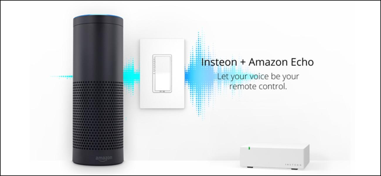 So steuern Sie Ihr Insteon Smarthome mit dem Amazon Echo