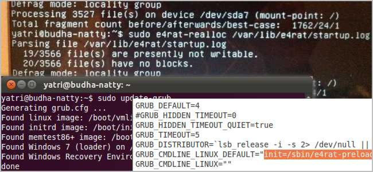 So halbieren Sie die Startzeit Ihres Linux-PCs mit E4rat