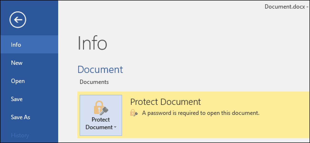 So schützen Sie Dokumente und PDFs mit einem Kennwort mit Microsoft Office