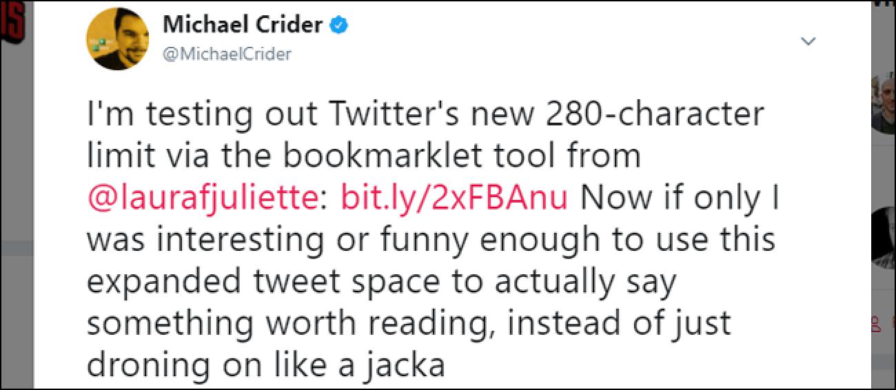 So erhalten Sie jetzt das neue 280-Zeichen-Limit von Twitter