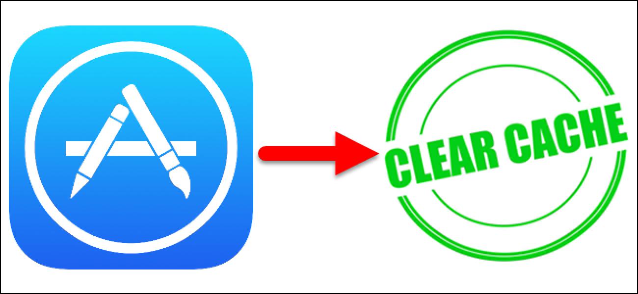 So aktualisieren Sie den Inhalt im App Store, indem Sie den Cache leeren