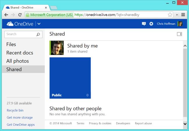 On-Drive-Shared-Files-to-Desktop-On-Windows-8.1 kann nicht synchronisiert werden