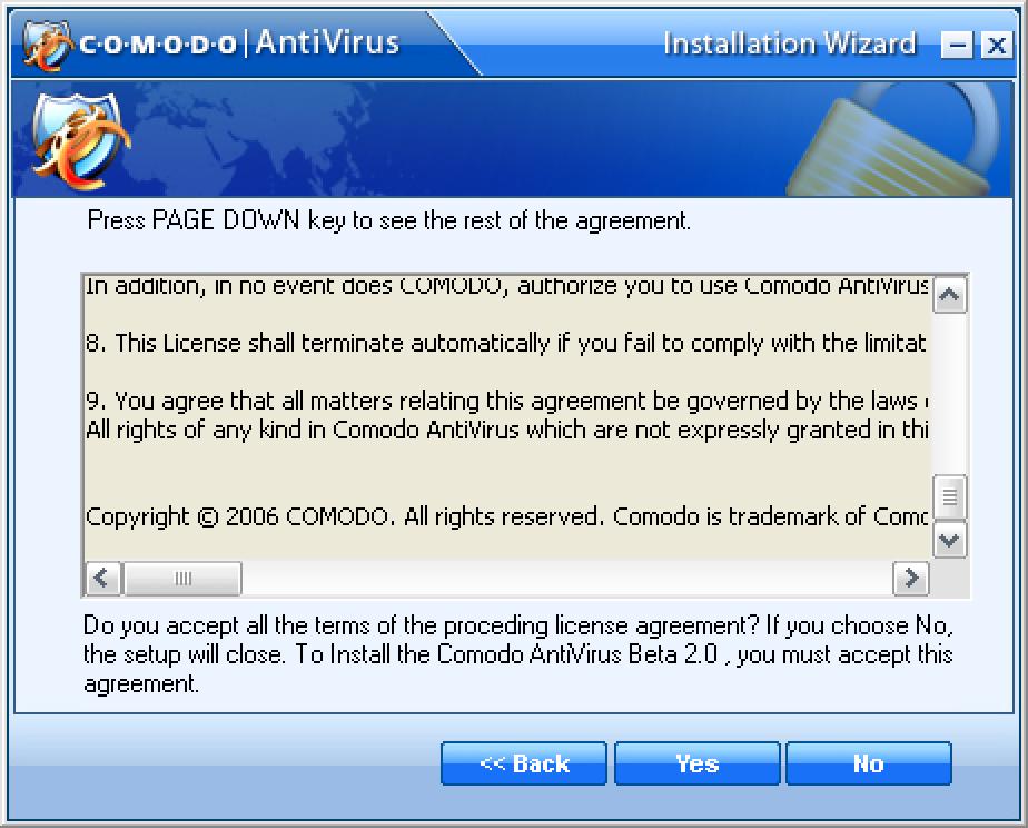 Kostenloser Virenschutz mit Comodo AntiVirus Beta 2.0