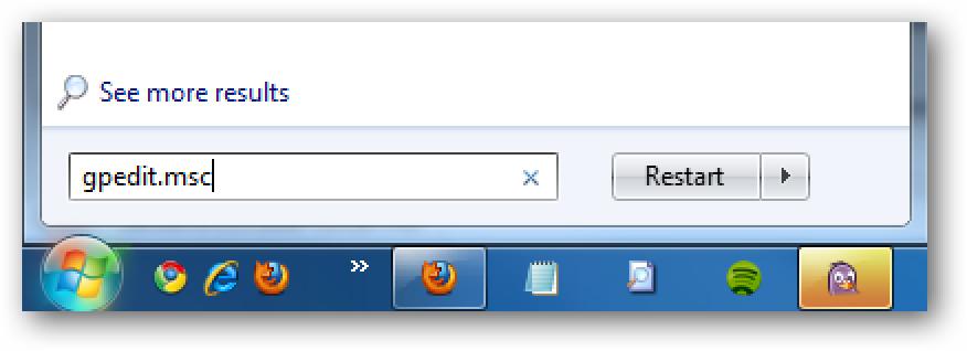 Passen Sie den Benachrichtigungsbereich in Windows 7 mithilfe lokaler Gruppenrichtlinien an