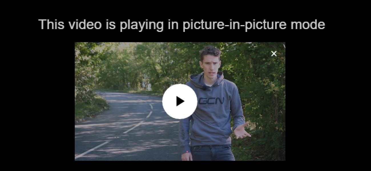 So verwenden Sie den Bild-in-Bild-Modus von Google Chrome