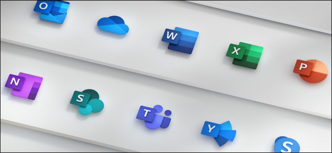 Microsoft vereinheitlicht Windows 10-Symbole mit einem neuen markenweiten Design
