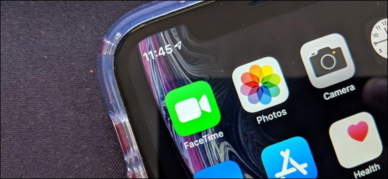 Mit iOS 12.1.1, das heute erhältlich ist, können Sie die FaceTime-Kamera erneut tippen