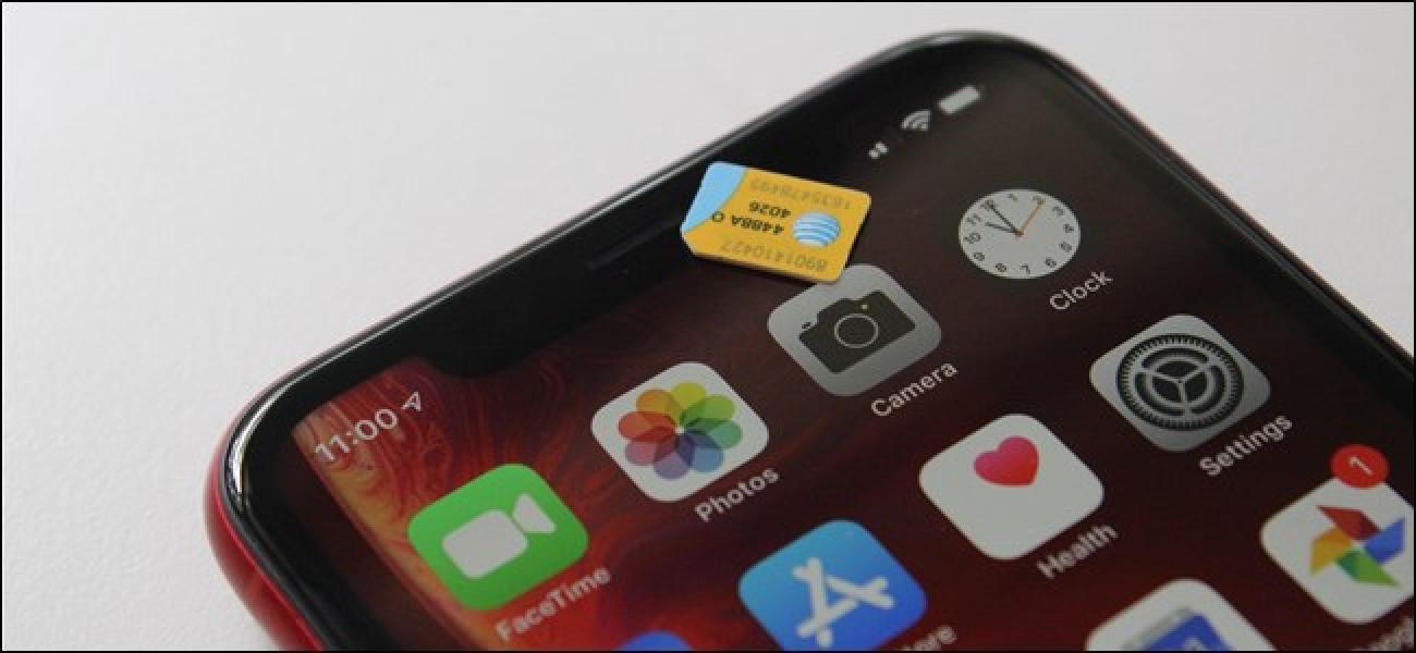 Der eSIM-Steckplatz des iPhones ist noch nicht mit einem US-Carrier kompatibel