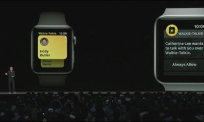 Verwenden Sie Ihre Apple Watch als Walkie-Talkie, das später in diesem Jahr erhältlich sein wird