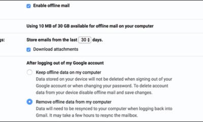 So aktivieren Sie die Offline-Unterstützung in New Google Mail