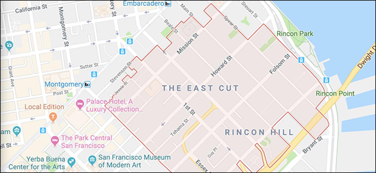 Google Maps benennt ganze Stadtteile um