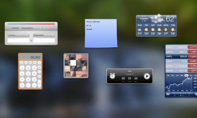 Warum existiert das macOS Dashboard noch?