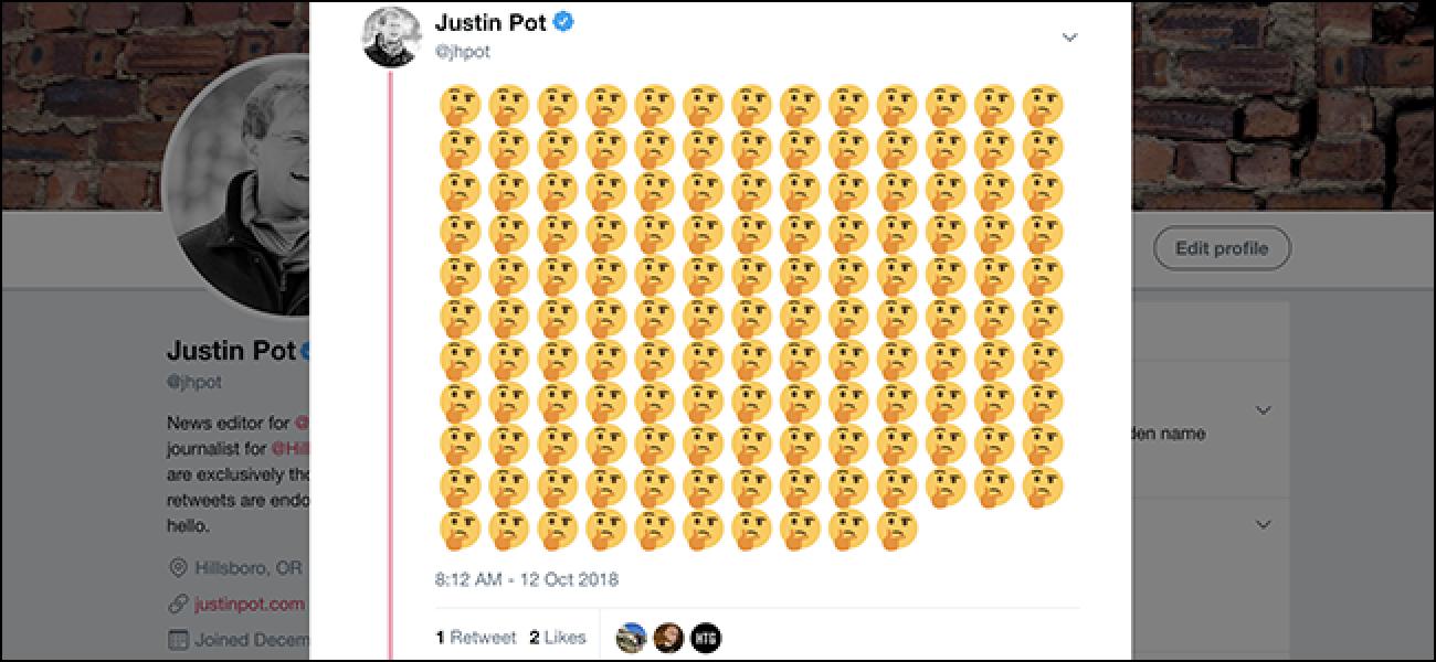 Sie können jetzt 140 Emoji in einen einzigen Tweet setzen