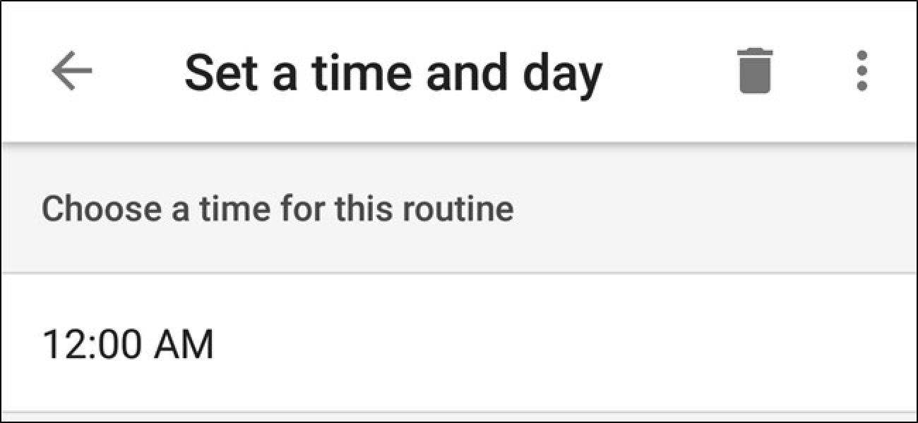 Sie können jetzt benutzerdefinierte Routinen in Google Home planen