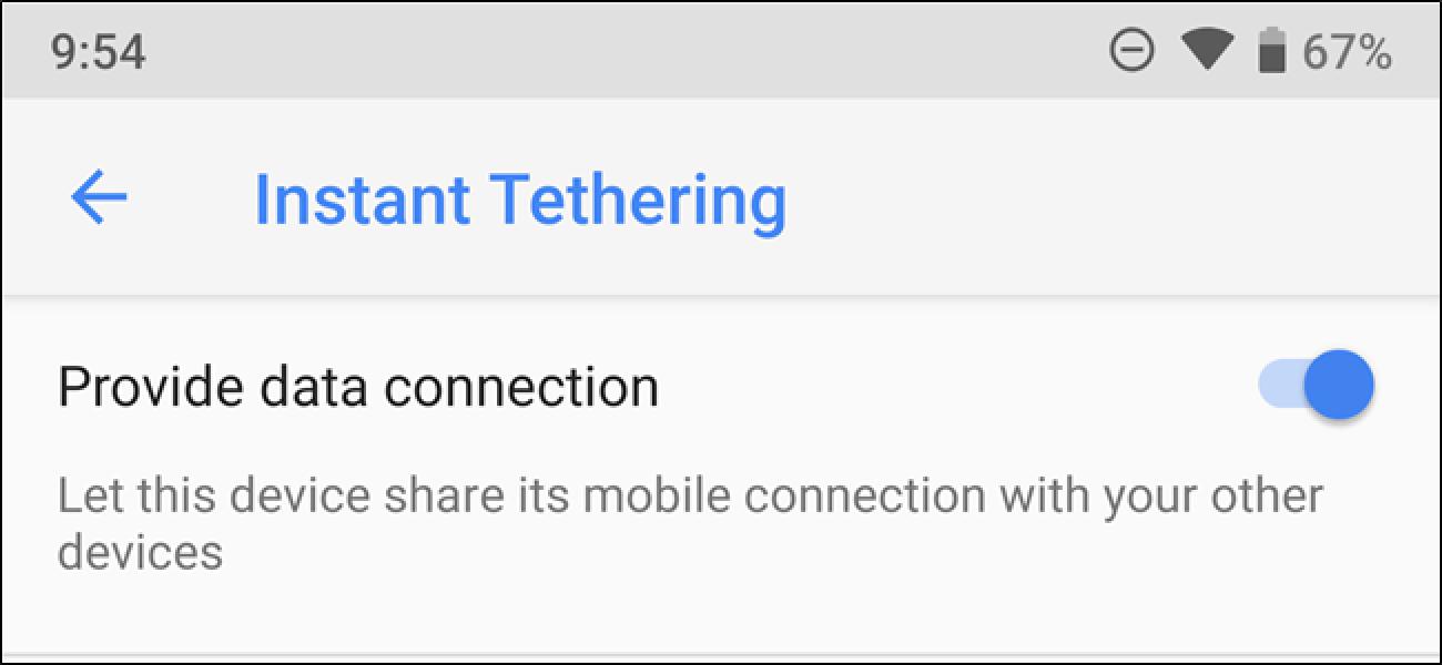 Chrome OS Instant Tethering bietet mehr Android-Telefone. Hier erfahren Sie, wie es geht