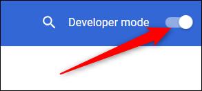 Schalten Sie den Entwicklermodus in den Chrome-Einstellungen um