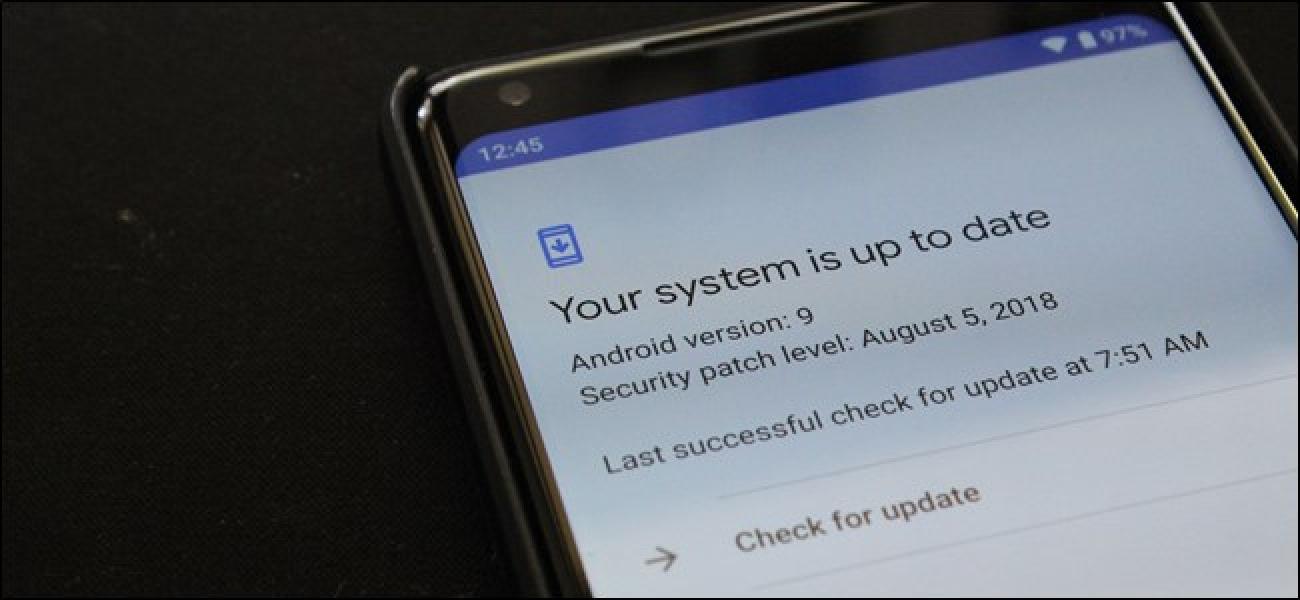 Alle Android Pie Phones enthalten Project Treble