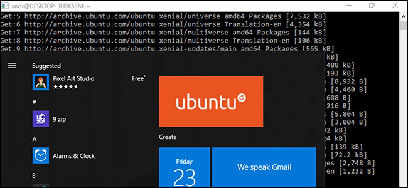 Ubuntu 18.04 LTS ist jetzt im Microsoft Store