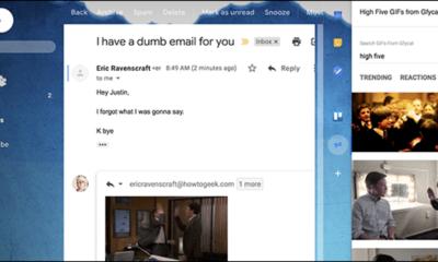 Sie können jetzt schnell Reaktions-GIFs in Google Mail hinzufügen