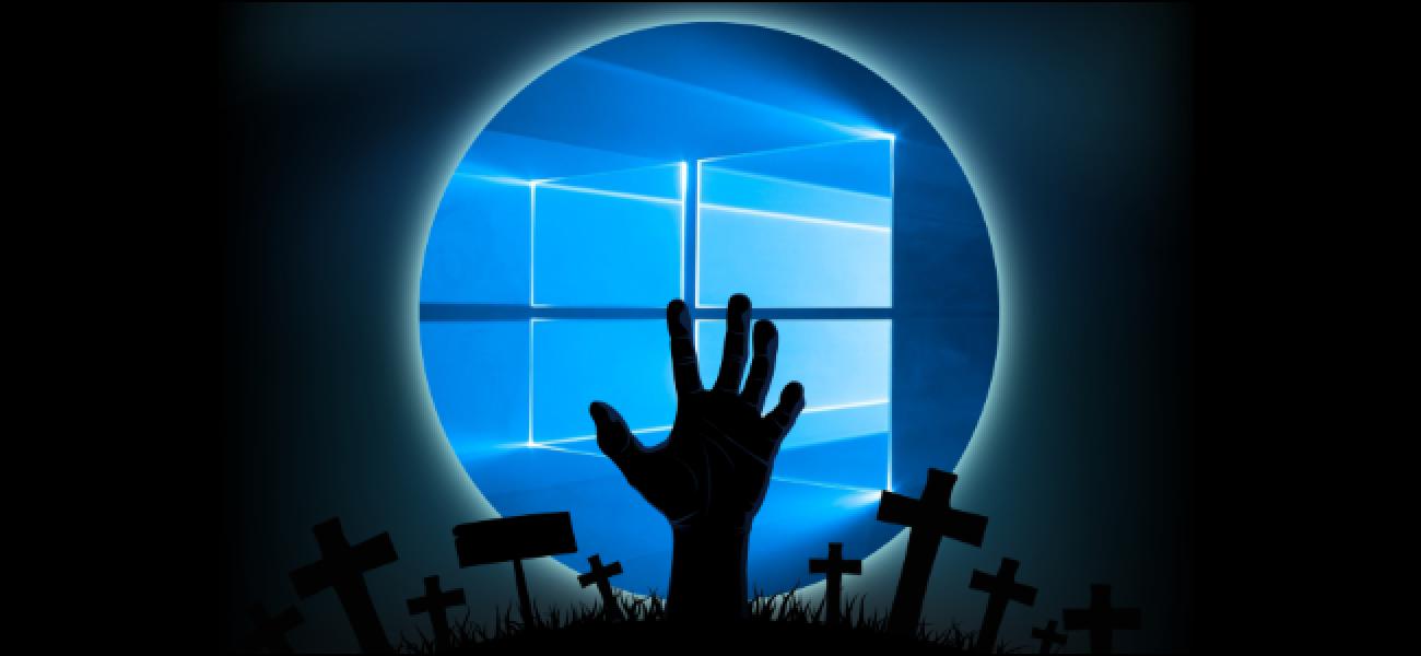 Das Update für Windows 10 vom Oktober 2018 ist fast zurück, pünktlich zu Halloween