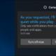 Das nächste Update von Windows 10 verbirgt Benachrichtigungen, während Sie Videos ansehen