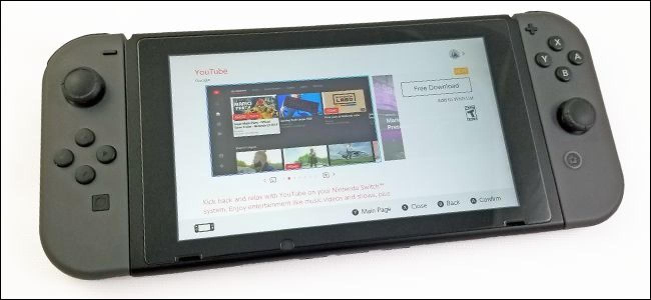 YouTube ist jetzt auf dem Nintendo Switch verfügbar