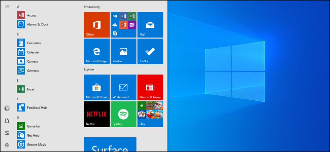 Das nächste Update von Windows 10 macht das Startmenü weniger schrecklich