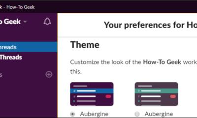 So ändern Sie die nervige lila Seitenleistenfarbe von Slack