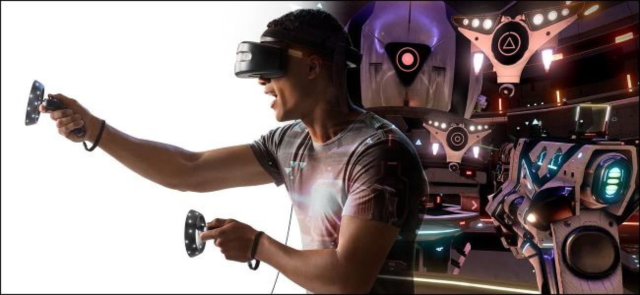 Mit Windows 10 können Sie Desktop-Apps auf VR-Headsets ausführen