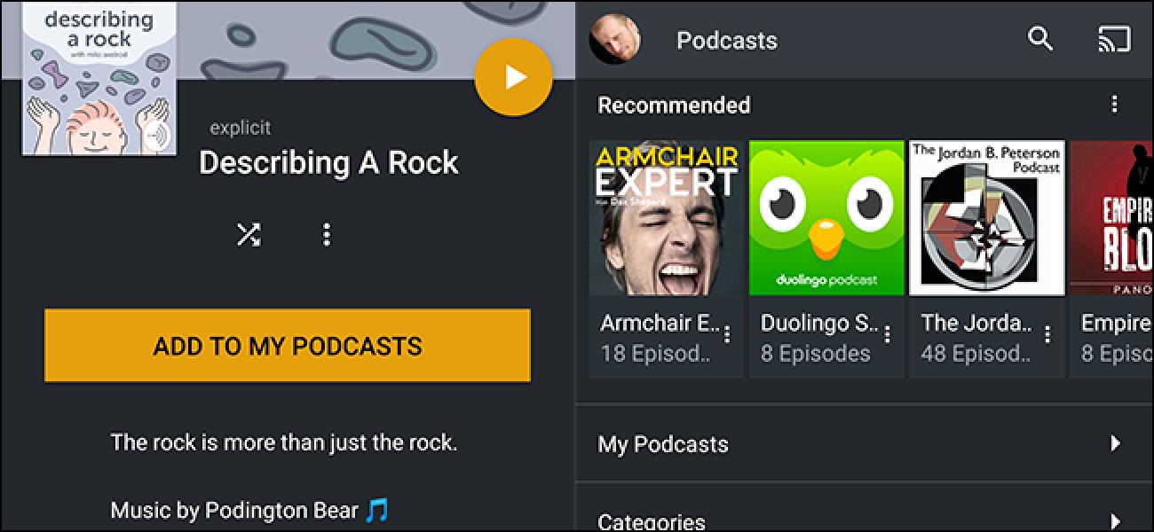 Plex Media Center unterstützt jetzt Podcasts