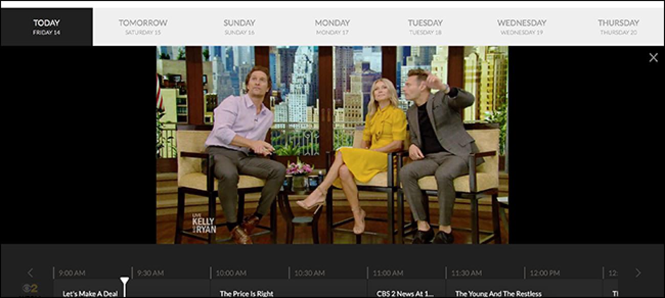 Streamen Sie kostenloses Live-TV, wenn Sie in New York, Chicago, Houston, Dallas oder Denver leben