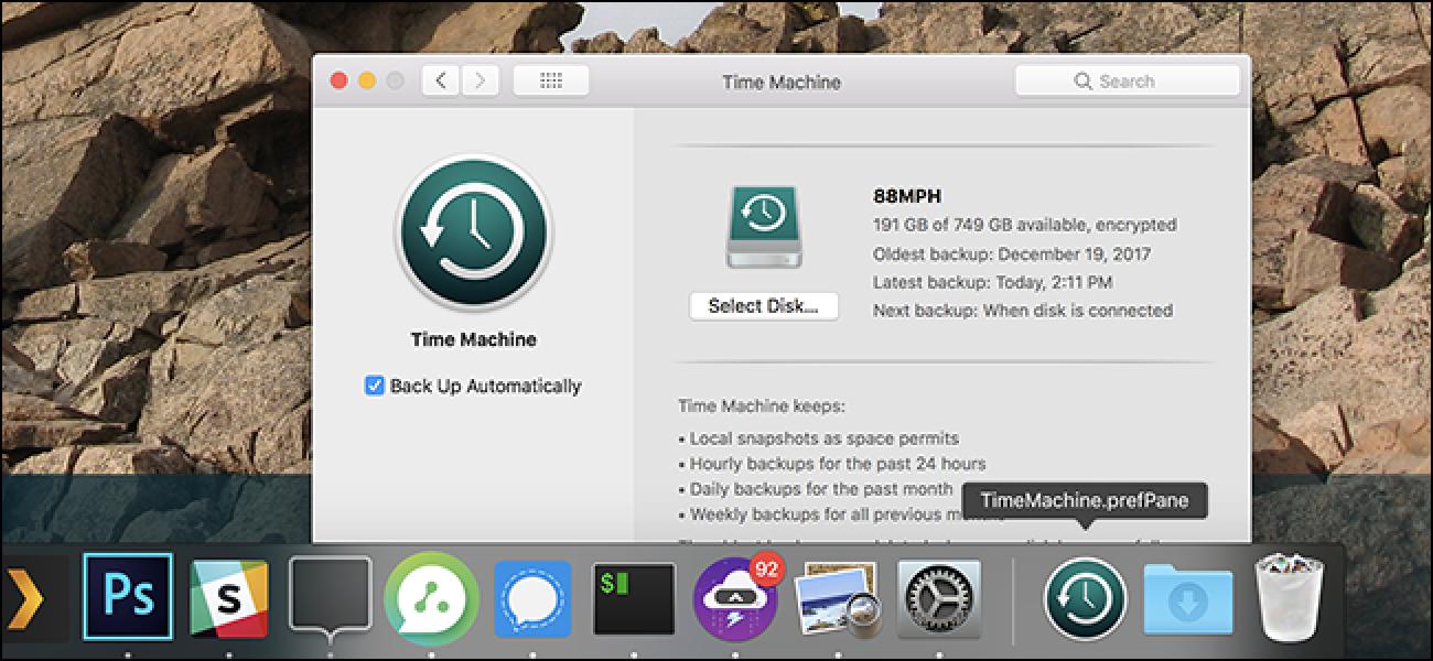 Fügen Sie Ihrem Dock macOS-Einstellungsfenster für den Schnellzugriff hinzu