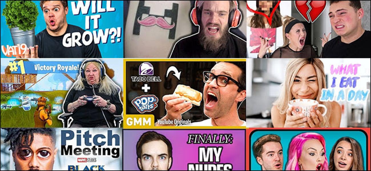 Warum jeder in YouTube-Miniaturansichten dumme Gesichter macht