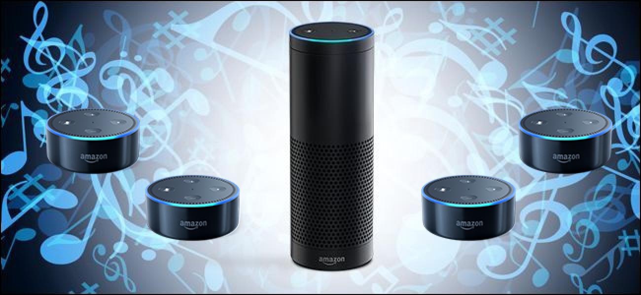 So spielen Sie Musik auf mehreren Amazon Echo-Lautsprechern (wie ein Sonos)