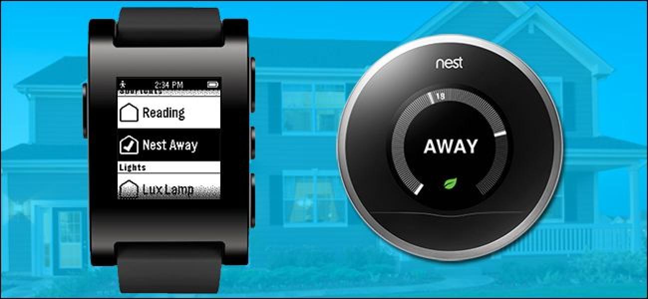 So steuern Sie Ihr Smarthome mit Ihrer Pebble Smartwatch