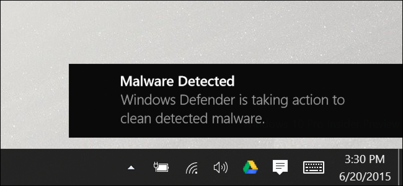 Verwendung des integrierten Windows Defender-Antivirus unter Windows 10