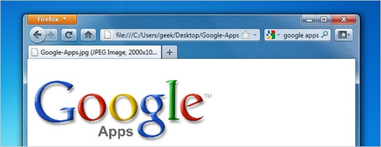So richten Sie Firefox für die Verwendung von Google Apps zum Öffnen von allem ein