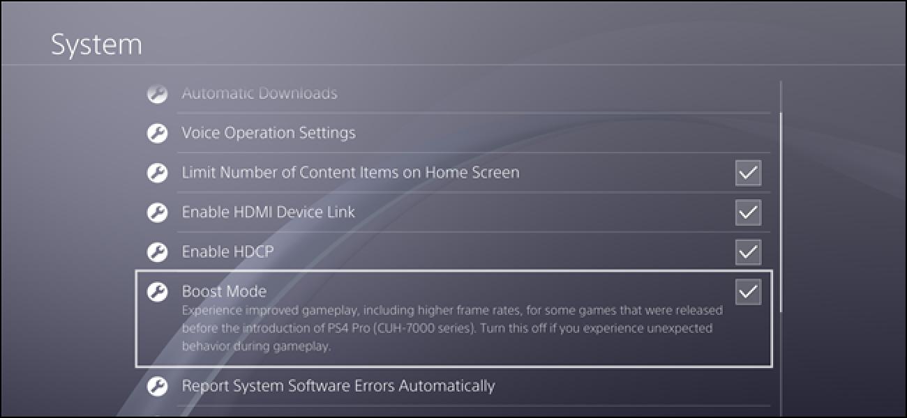 Was ist der Boost-Modus auf der PlayStation 4 Pro?