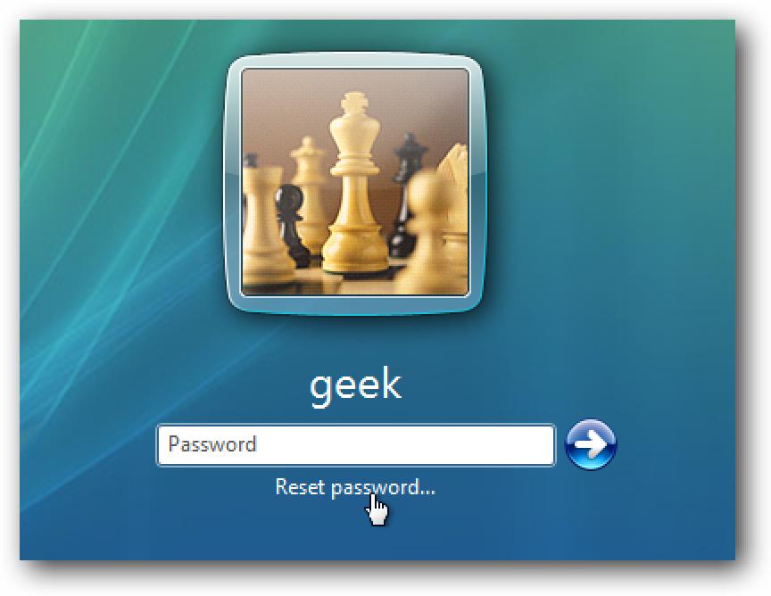 Erstellen und Verwenden einer Kennwortrücksetzdiskette unter Windows 7 oder Vista