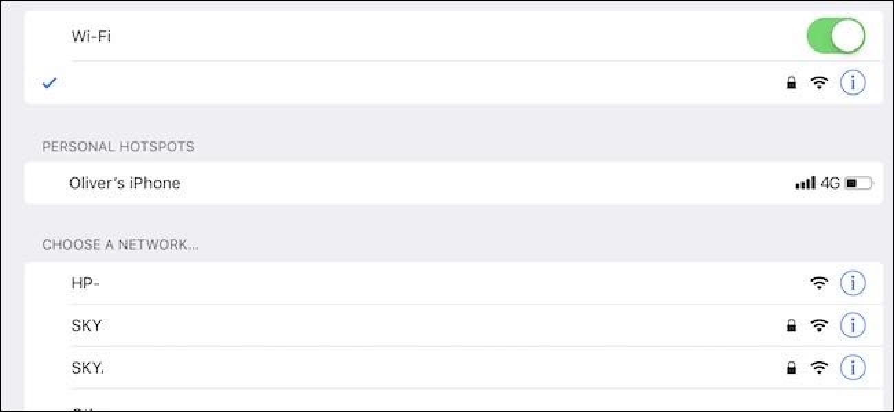 So verwenden Sie Instant Hotspot auf Ihrem iPhone, iPad oder Mac