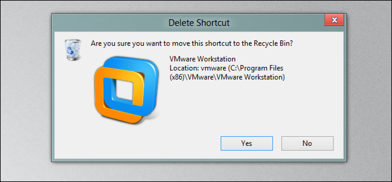 Aktivieren des Dialogfelds zum Löschen der Bestätigung in Windows 8