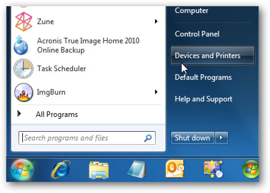 Scannen Sie ein Dokument oder Bild in Windows 7