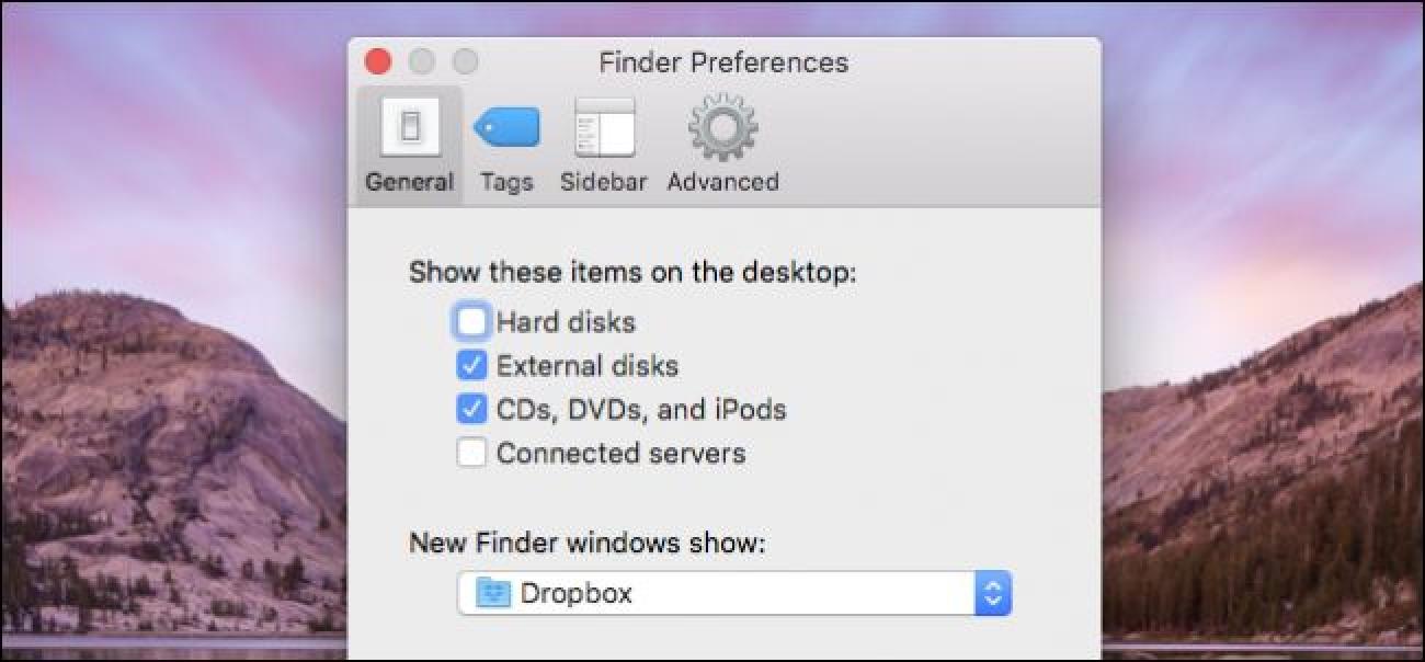 So ändern Sie den Standard-Finder-Ordner in OS X.