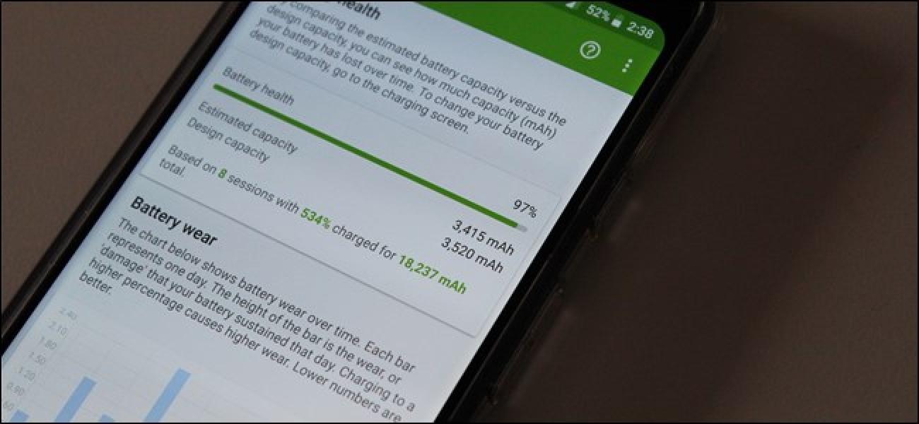So überwachen Sie den Akkuzustand Ihres Android-Geräts