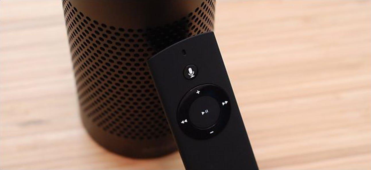 So erweitern Sie die Reichweite Ihres Amazon Echo mit einer Sprachfernbedienung