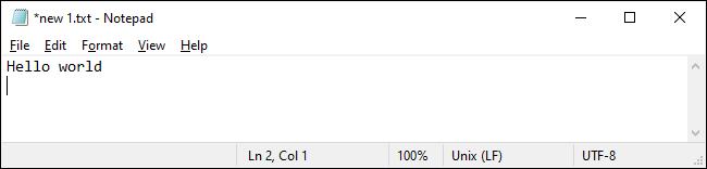 Editor unter Windows 10