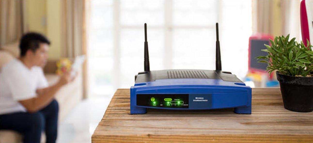 Platzieren Sie Ihren Router für die besten WLAN-Geschwindigkeiten